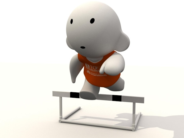 Barni !!! La mascotte des Championnats d'Europe d'Athlétisme outdoor 2010 Salt_v10