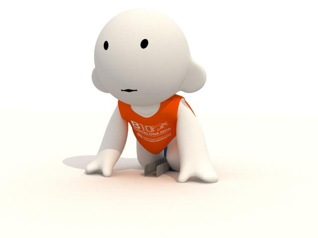 Barni !!! La mascotte des Championnats d'Europe d'Athlétisme outdoor 2010 Sortid10