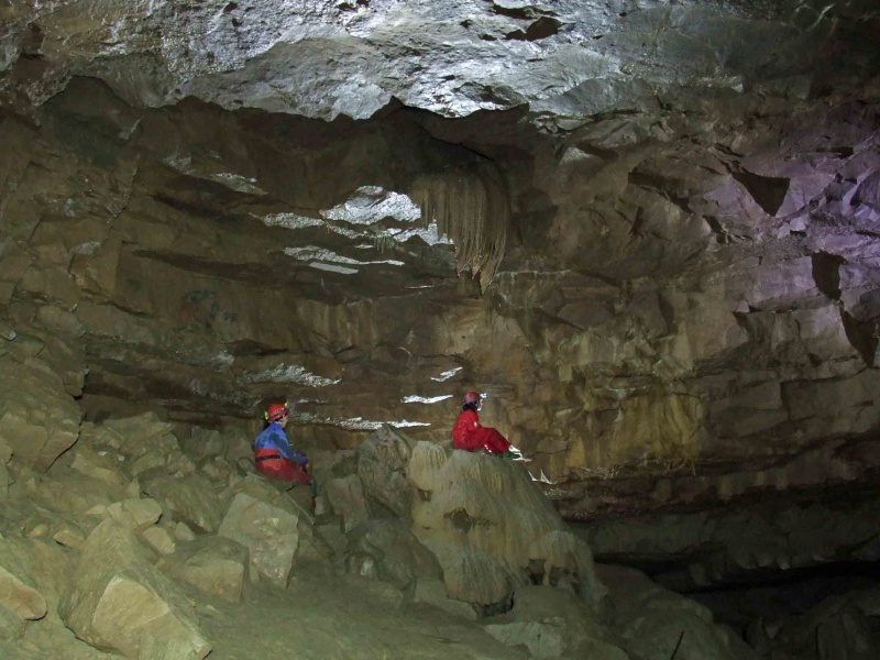 Ogof Hen Ffynnonau (Poachers Cave) Dscf1020