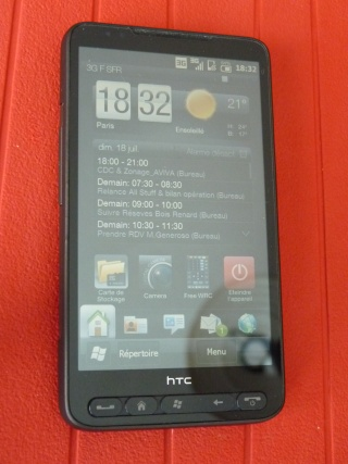 [VENDU] HTC HD2 SFR - GARANTIE 2 ANS - PACKAGE COMPLET P1010312