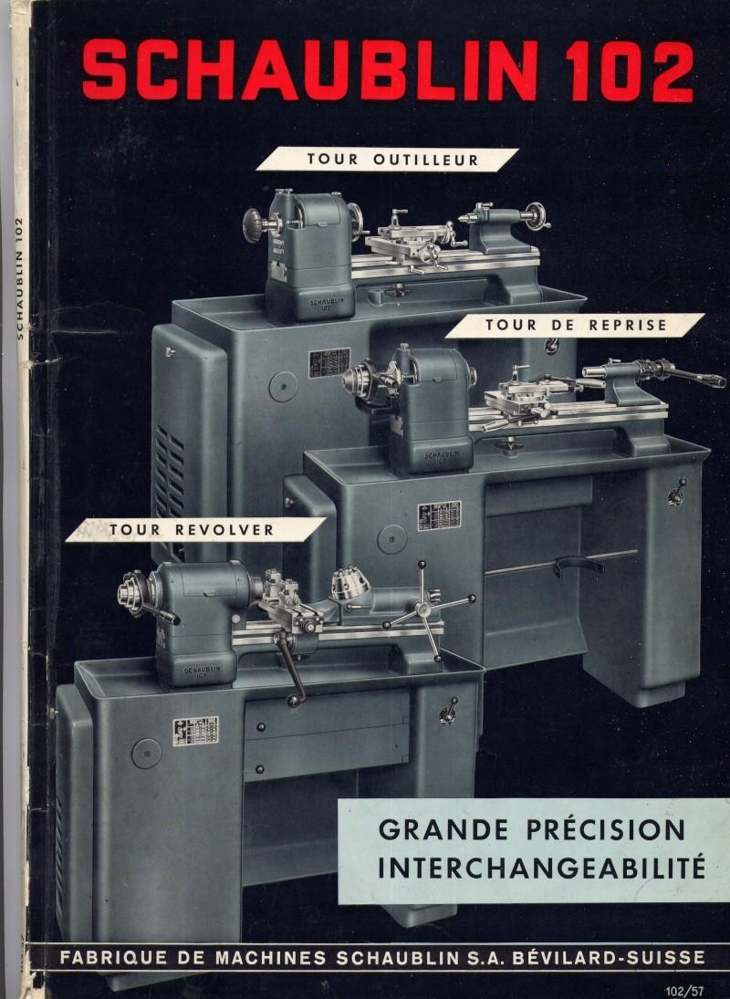catalogue Schaublin 102 110