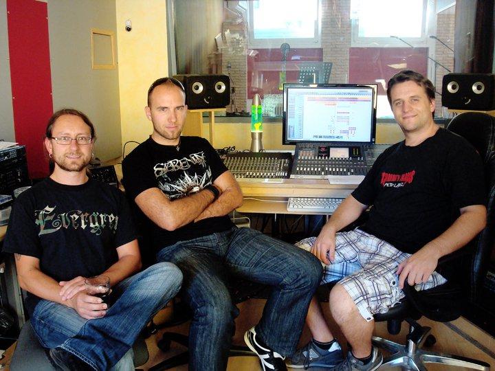 Recording in Studio Ailyn216