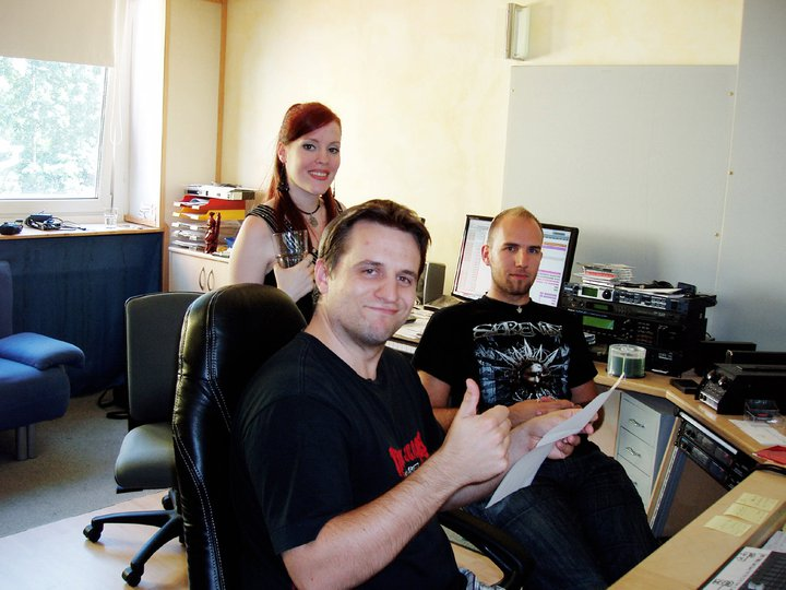 Recording in Studio Ailyn310