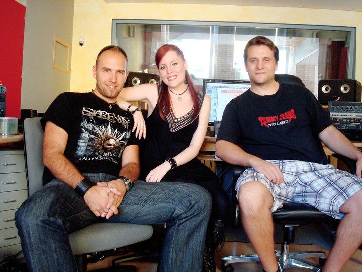 Recording in Studio Ailyn313
