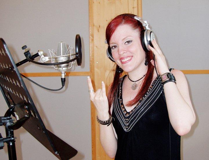 Recording in Studio Ailyn410