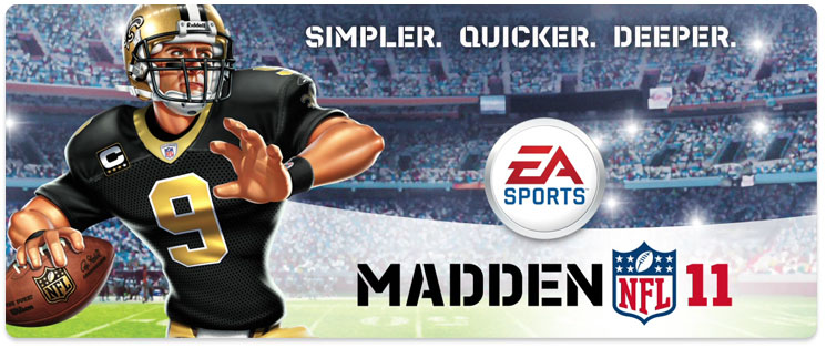 Nintendo/ Madden NFL11 Vt9hld10