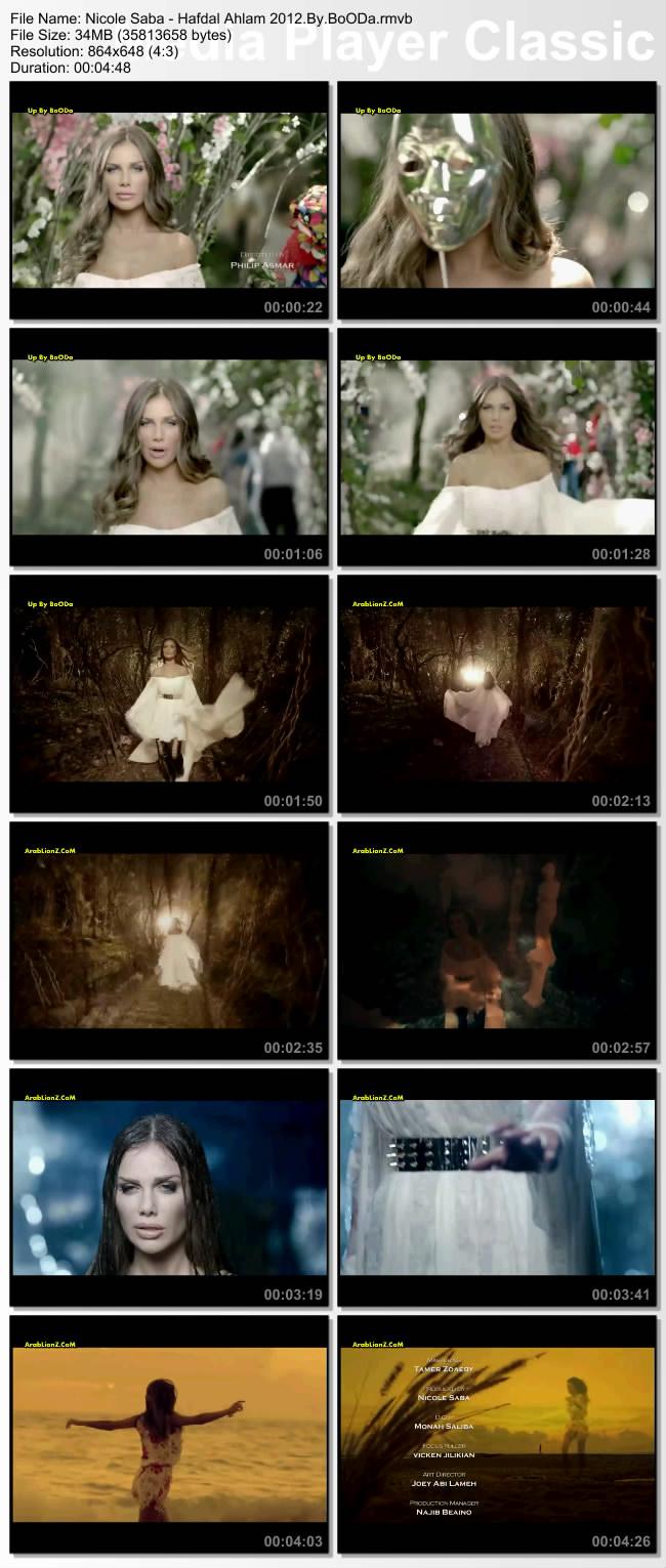 تحميل - تحميل - كليب نيكول سابا - هفضل احلم - 2012 - DVDRip Thumbs13