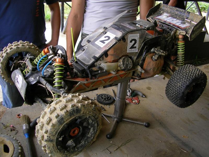 Chasis corto (-4,5cm) Scorpion A110