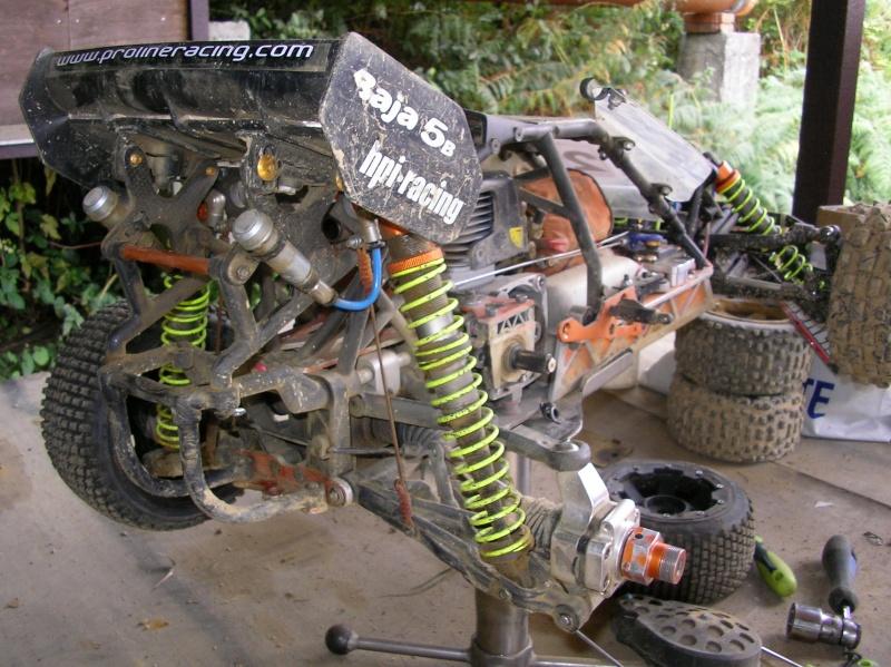 Chasis corto (-4,5cm) Scorpion A210