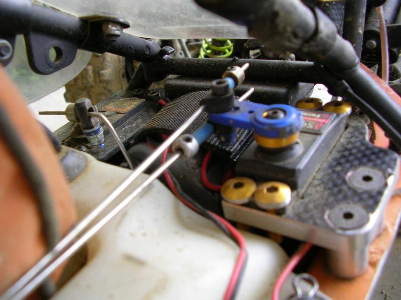 Chasis corto (-4,5cm) Scorpion A710