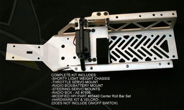 Chasis corto (-4,5cm) Scorpion Baja-h17