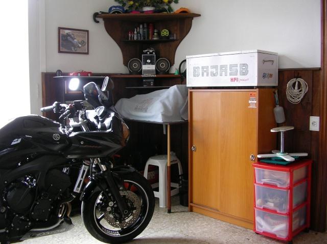 Soporte giratorio casero para trabajar en el cochecito: Sany0032