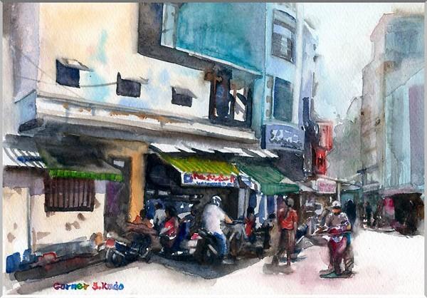 Việt Nam trong những bức tranh của họa sĩ Satoshi Kudo  12091415