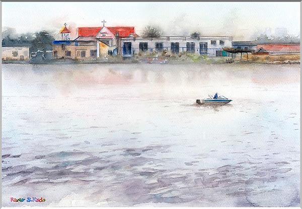 Việt Nam trong những bức tranh của họa sĩ Satoshi Kudo  12091417