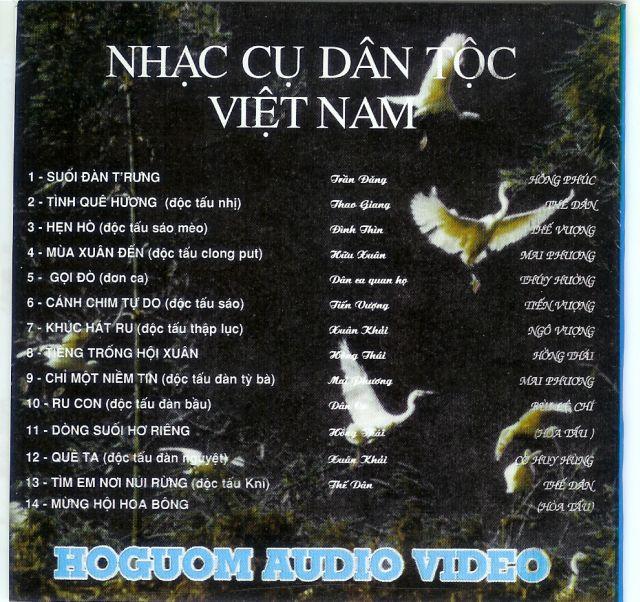 Nhạc cụ dân tộc Việt Nam Inside10
