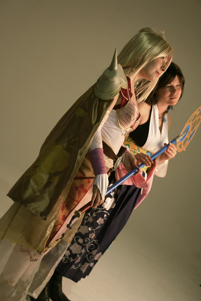 Heroines [ Yuna & Rosa / FFX + FFIV ] Yunaro11