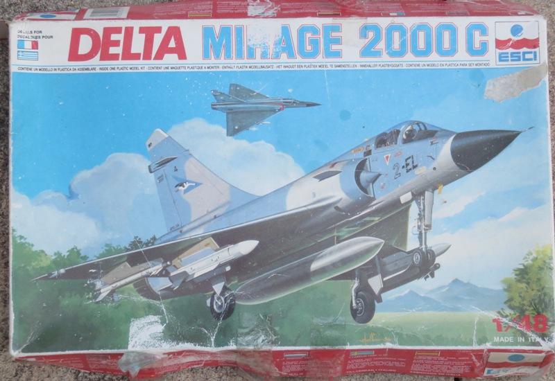 Dassault Mirage 2000C [ITALERI / ESCI 1/48] Img_8511