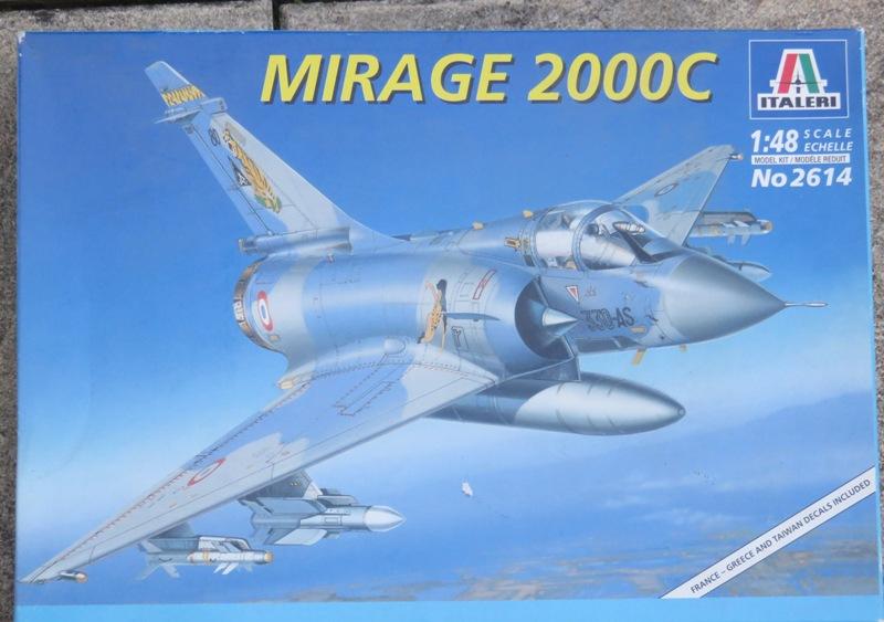 Dassault Mirage 2000C [ITALERI / ESCI 1/48] Img_8512
