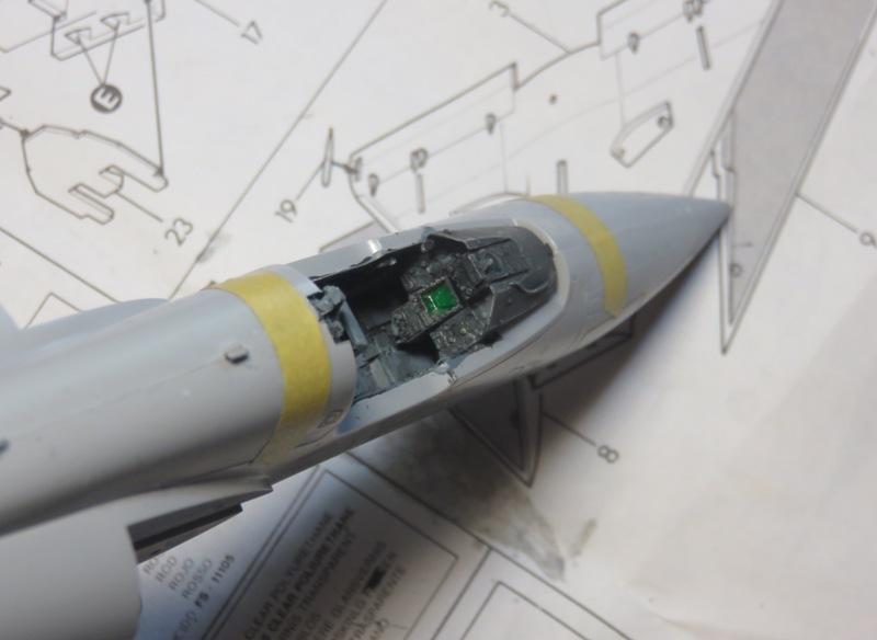 Dassault Mirage 2000C [ITALERI / ESCI 1/48] Img_8514