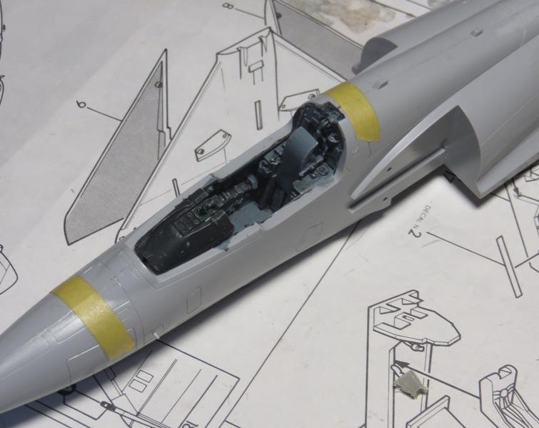 Dassault Mirage 2000C [ITALERI / ESCI 1/48] Img_8515