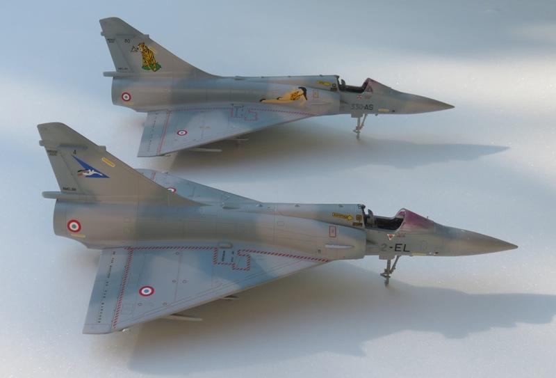 Dassault Mirage 2000C [ITALERI / ESCI 1/48] Img_8522