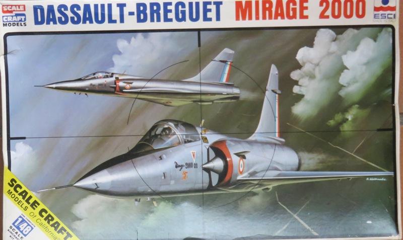 Dassault Mirage 2000C [ITALERI / ESCI 1/48] Img_8523