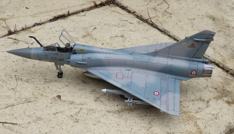 Dassault Mirage 2000C [ITALERI / ESCI 1/48] Img_8526