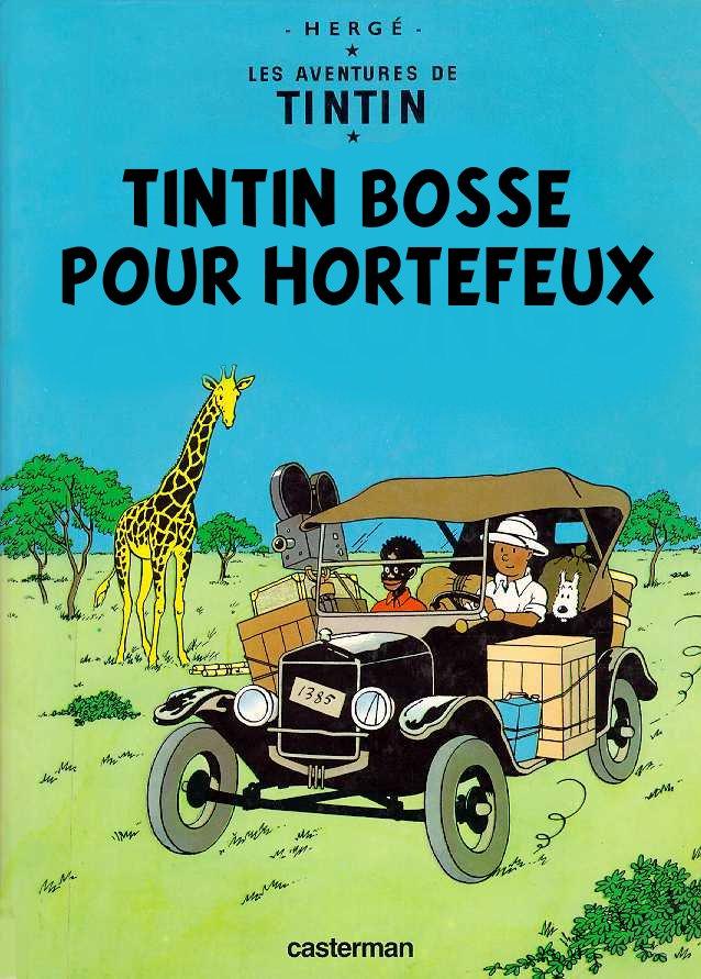 Couvertures de Tintin Congo10