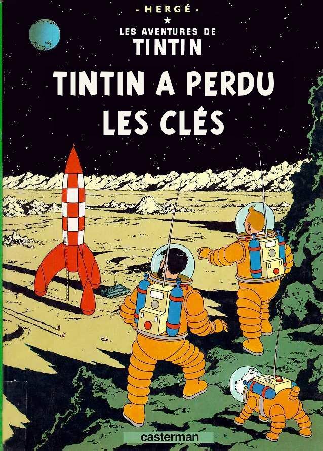 Couvertures de Tintin Lune10