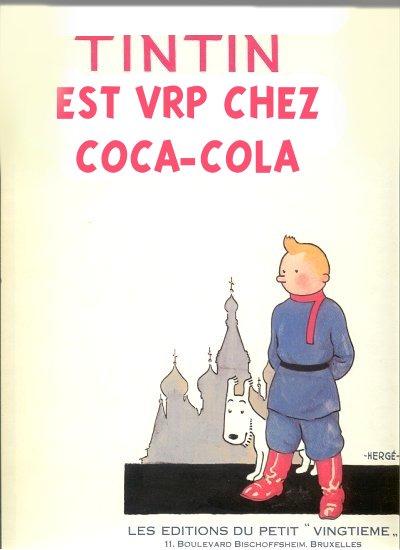 Couvertures de Tintin Soviet10