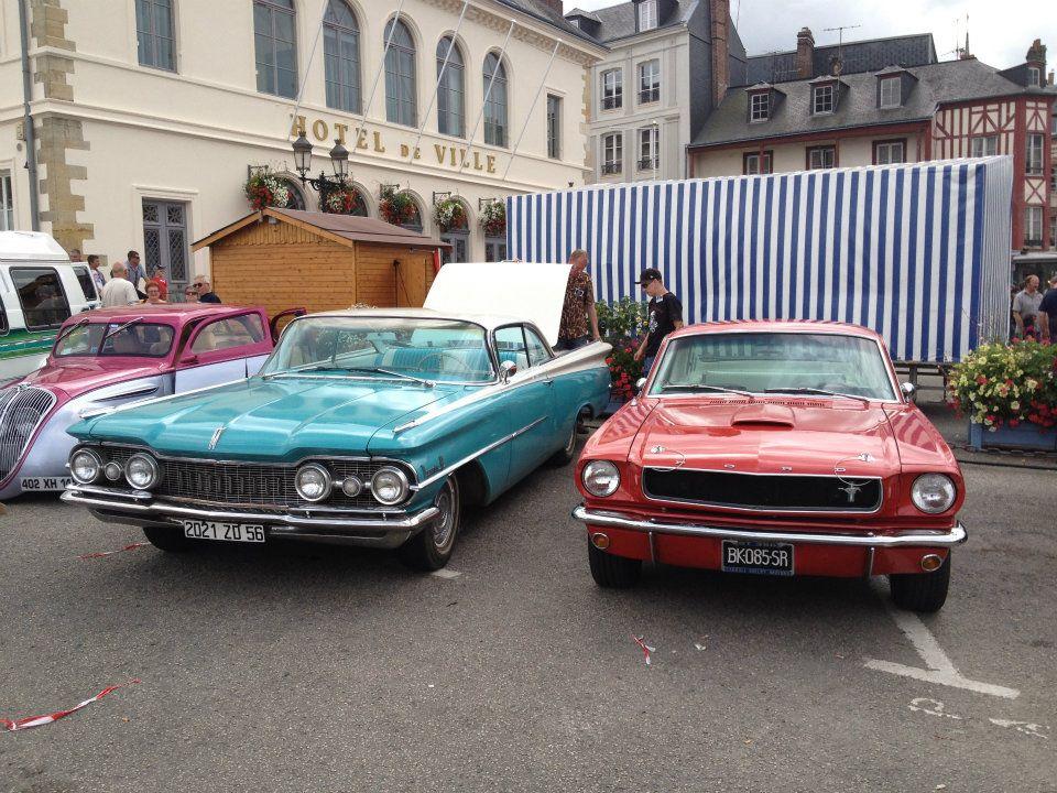 """Car Show   HONFLEUR 4 et 5 Aout 2012 The """"1st BACK to '50's"""" 28362011"""