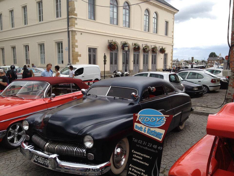 """Car Show   HONFLEUR 4 et 5 Aout 2012 The """"1st BACK to '50's"""" 28372310"""