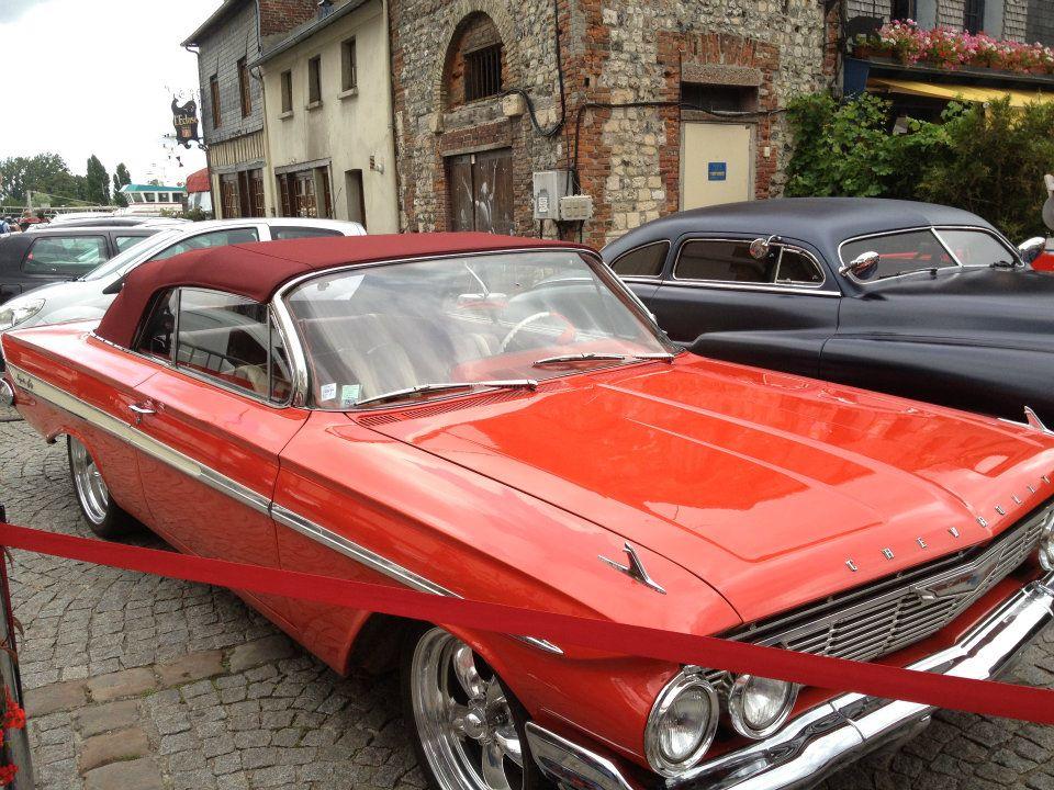 """Car Show   HONFLEUR 4 et 5 Aout 2012 The """"1st BACK to '50's"""" 30635910"""