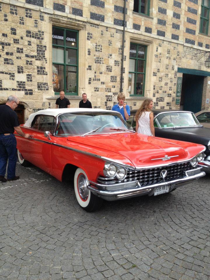 """Car Show   HONFLEUR 4 et 5 Aout 2012 The """"1st BACK to '50's"""" 37624210"""