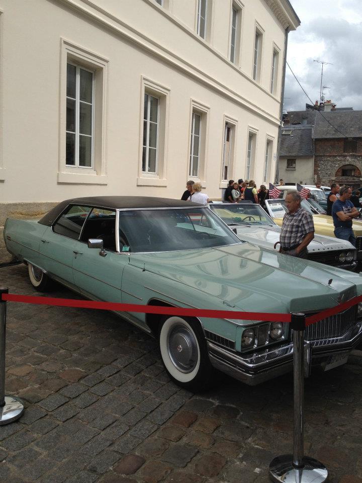 """Car Show   HONFLEUR 4 et 5 Aout 2012 The """"1st BACK to '50's"""" 40959710"""