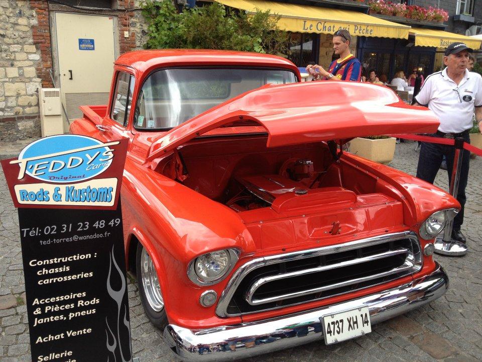 """Car Show   HONFLEUR 4 et 5 Aout 2012 The """"1st BACK to '50's"""" 53685610"""