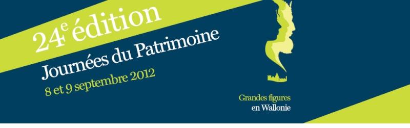 Journées européenne du Patrimoine : 8 et 9 septembre 2012 Banner11