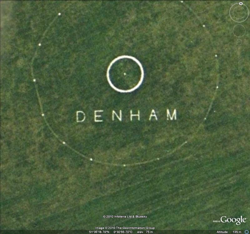 Les inscriptions et écritures sur aérodromes et aéroports - Page 2 Denham10