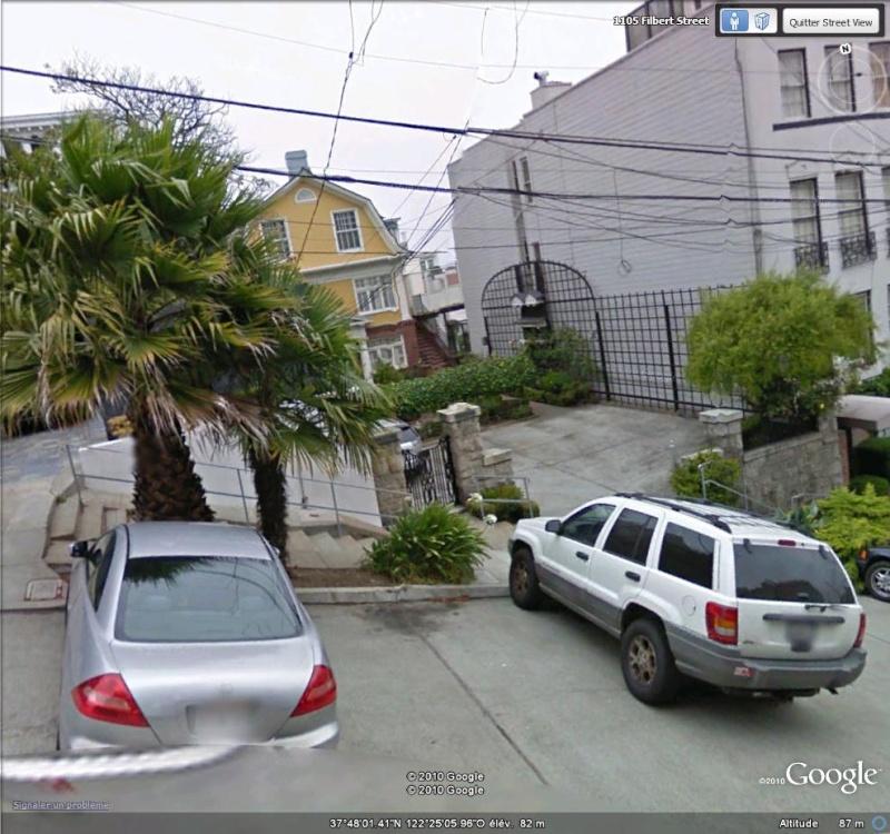 Lieux de tournage de vidéo-clip découverts avec Google Earth Entrae10