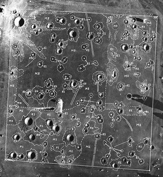 Un morceau de la mer de Tranquilité de 1.6 km² près de Flagstaff - Etats-Unis Lune-a10