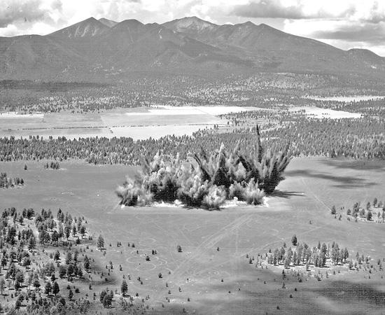 Un morceau de la mer de Tranquilité de 1.6 km² près de Flagstaff - Etats-Unis Lune-a15