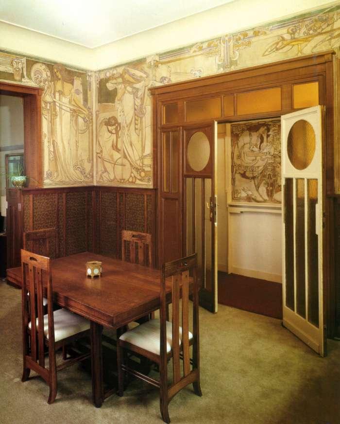 Demeures historiques et leur décors intérieur  Maison13