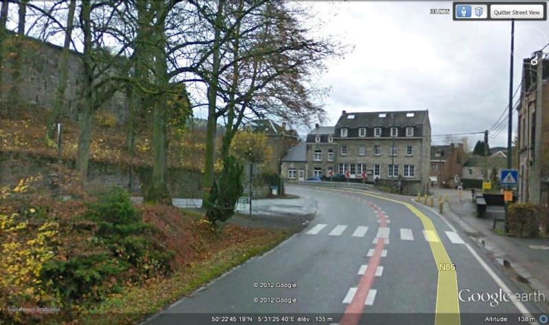 Street View : La Belgique : Pays du surréalisme Paneau10