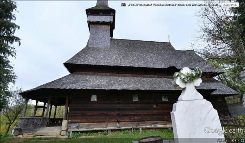 [Roumanie] - Les églises en bois de Maramureș Poieni11