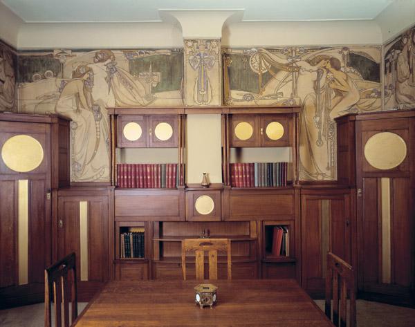Demeures historiques et leur décors intérieur  Salle-11