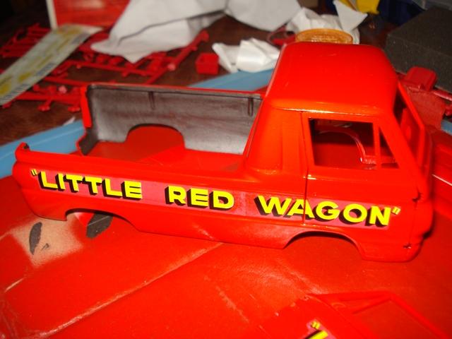 """Little Red Wagon"" Lrw210"