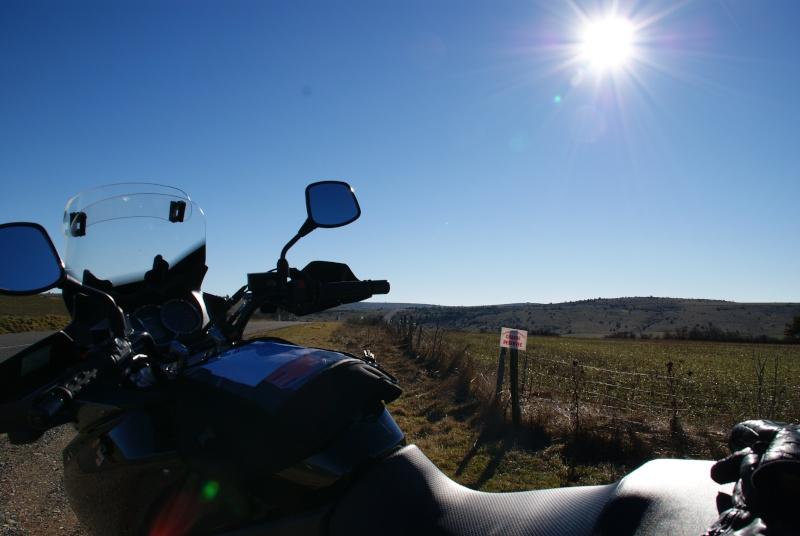 route du Causse de Sauveterre le 16 janvier 2011 Dsc01010