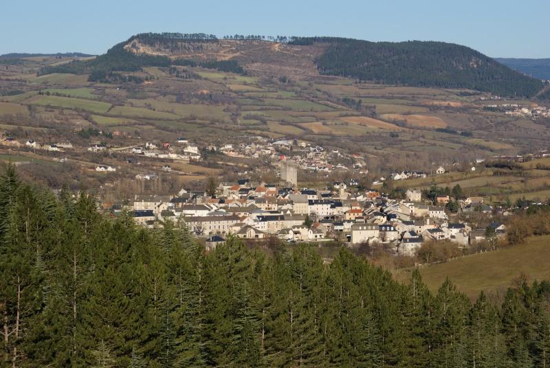route du Causse de Sauveterre le 16 janvier 2011 Dsc01116