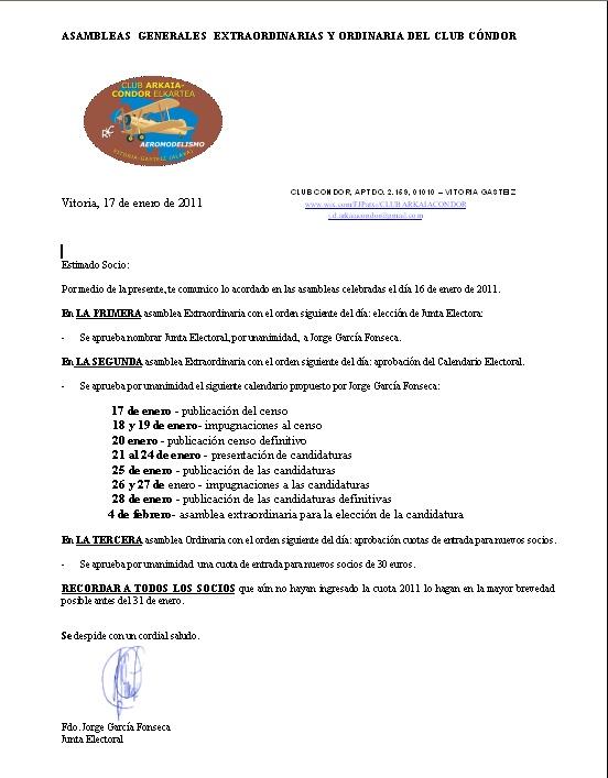 Acuerdos en asambleas del dia 16 Asambl10