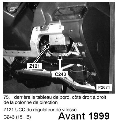 au secours !!! besoin d'aide pour relais cruise control Ccav9910